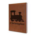 Trains Leatherette Journal (Personalized)
