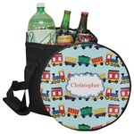 Trains Collapsible Cooler & Seat (Personalized)