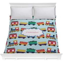 Trains Comforter (Personalized)