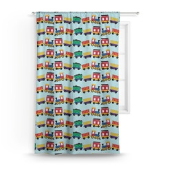 Trains Curtain (Personalized)