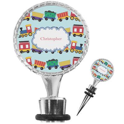 Trains Wine Bottle Stopper (Personalized)