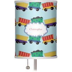 "Trains 7"" Drum Lamp Shade (Personalized)"