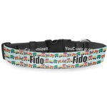 Trains Deluxe Dog Collar (Personalized)