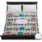 Trains Duvet Cover (Personalized)