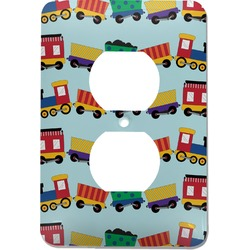 Trains Electric Outlet Plate (Personalized)