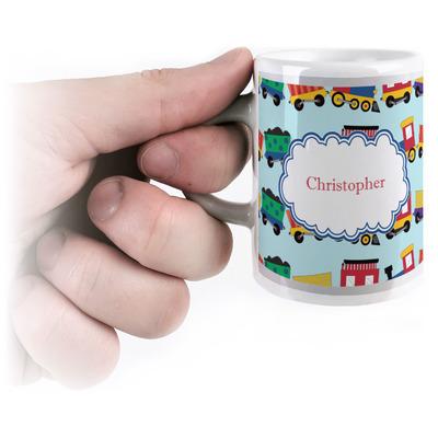 Trains Espresso Cups (Personalized)