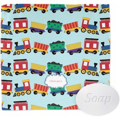 Trains Wash Cloth (Personalized)
