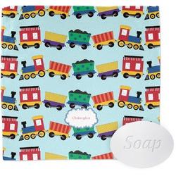 Trains Washcloth (Personalized)