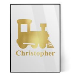 Trains Foil Print (Personalized)