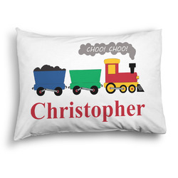 Trains Pillow Case - Standard - Graphic (Personalized)