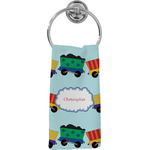 Trains Hand Towel - Full Print (Personalized)