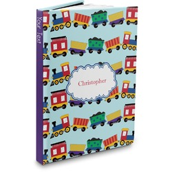 Trains Hardbound Journal (Personalized)