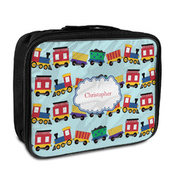 Trains Insulated Lunch Bag (Personalized)