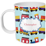 Trains Plastic Kids Mug (Personalized)