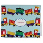 Trains Kitchen Towel - Full Print (Personalized)