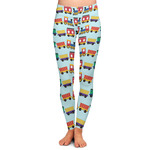 Trains Ladies Leggings (Personalized)