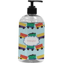 Trains Plastic Soap / Lotion Dispenser (Personalized)