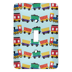 Trains Light Switch Covers - Multiple Toggle Options Available (Personalized)
