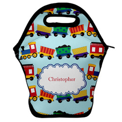 Trains Lunch Bag w/ Name or Text