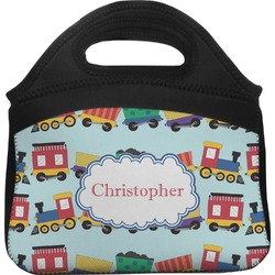 Trains Lunch Tote (Personalized)