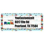 Trains Return Address Labels (Personalized)