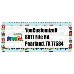 Trains Return Address Labels (Personalized)