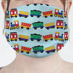 Trains Face Mask Cover (Personalized)