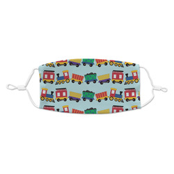 Trains Kid's Cloth Face Mask (Personalized)