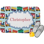 Trains Memory Foam Bath Mat (Personalized)