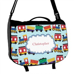 Trains Messenger Bag (Personalized)