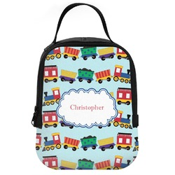 Trains Neoprene Lunch Tote (Personalized)