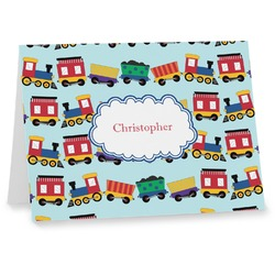 Trains Note cards (Personalized)