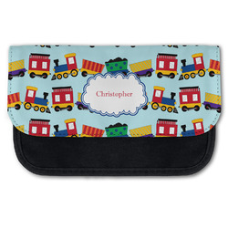 Trains Canvas Pencil Case w/ Name or Text
