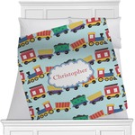 Trains Blanket (Personalized)