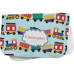 Trains Burp Cloth (Personalized)