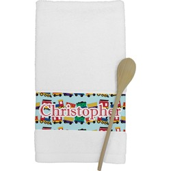Trains Kitchen Towel (Personalized)