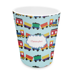 Trains Plastic Tumbler 6oz (Personalized)