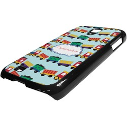 Trains Plastic Samsung Galaxy 4 Phone Case (Personalized)