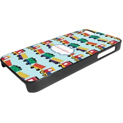 Trains Plastic iPhone 5/5S Phone Case (Personalized)