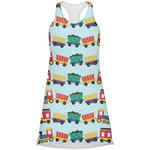 Trains Racerback Dress (Personalized)