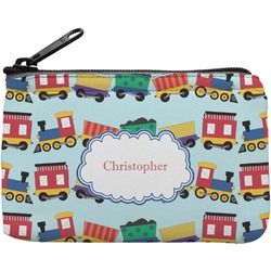 Trains Rectangular Coin Purse (Personalized)