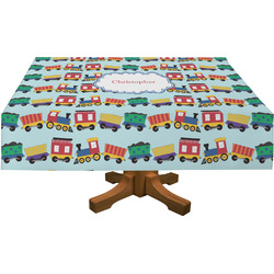 "Trains Tablecloth - 58""x102"" (Personalized)"