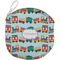 Trains Round Coin Purse (Personalized)