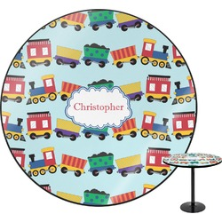"Trains Round Table - 30"" (Personalized)"