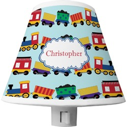 Trains Shade Night Light (Personalized)