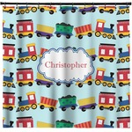 Trains Shower Curtain (Personalized)