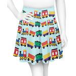Trains Skater Skirt (Personalized)