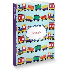 Trains Softbound Notebook (Personalized)