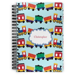 Trains Spiral Bound Notebook (Personalized)