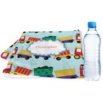 Trains Sports & Fitness Towel (Personalized)